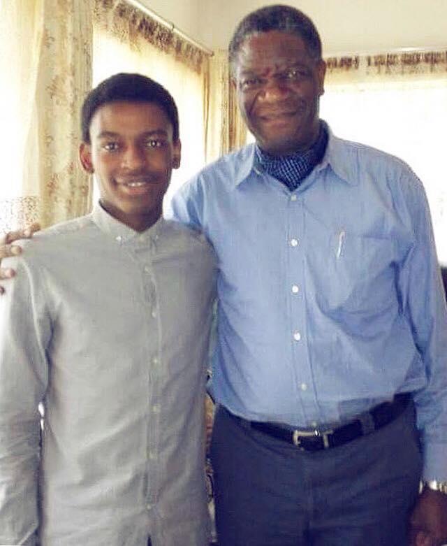 Bafondoko og Dr.Denis Mukwege